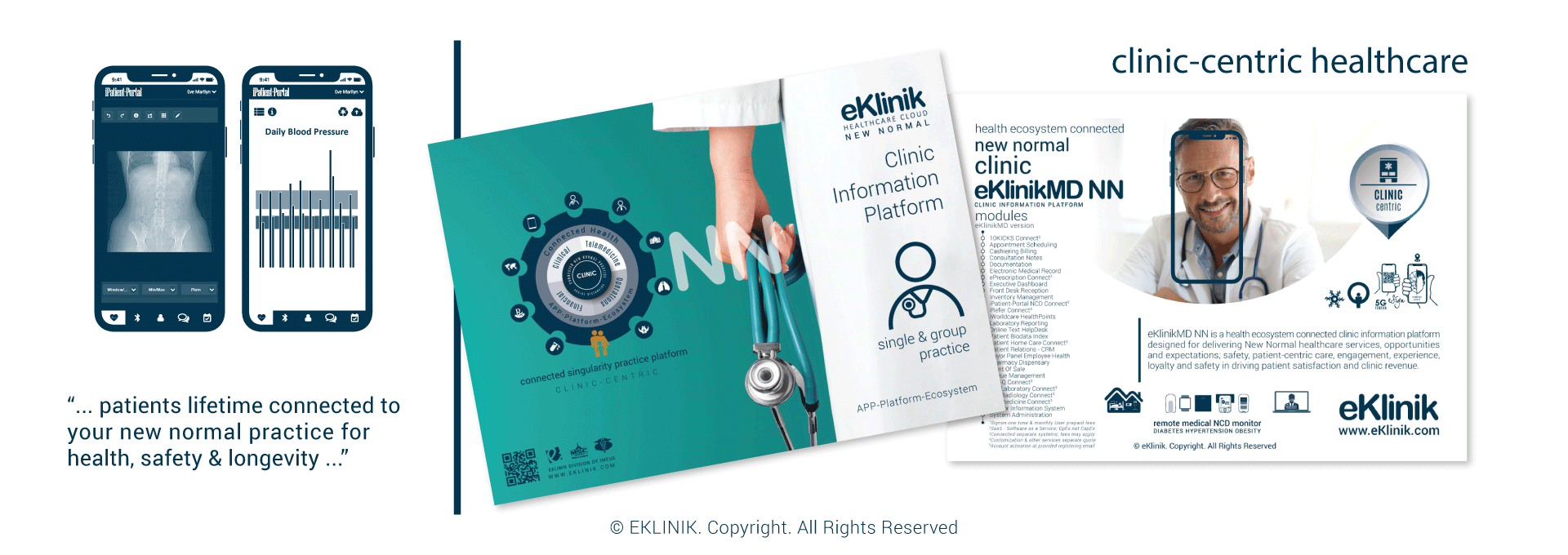 eKlinik Healthcare Cloud Point-Of-Care